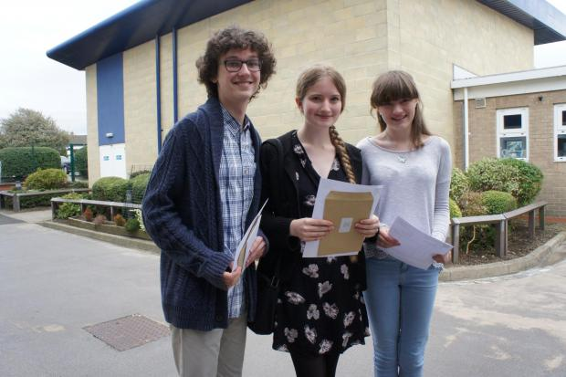 The Advertiser Series: THE A-TEAM: Jack Parker, Emma Turner and Tabitha Gillard at Teesdale School
