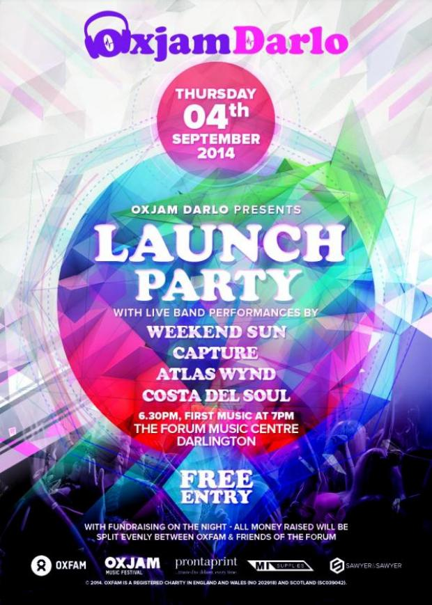 The Advertiser Series: LAUNCH PARTY: Four bands will perform live at a launch party next week for a music festival in Darlington.