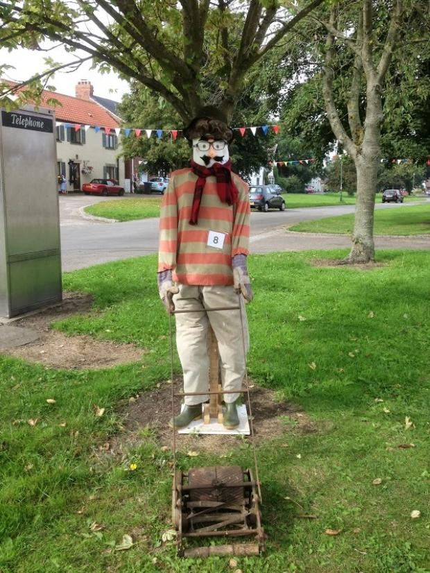 The Advertiser Series: A scarecrow from last year's festival