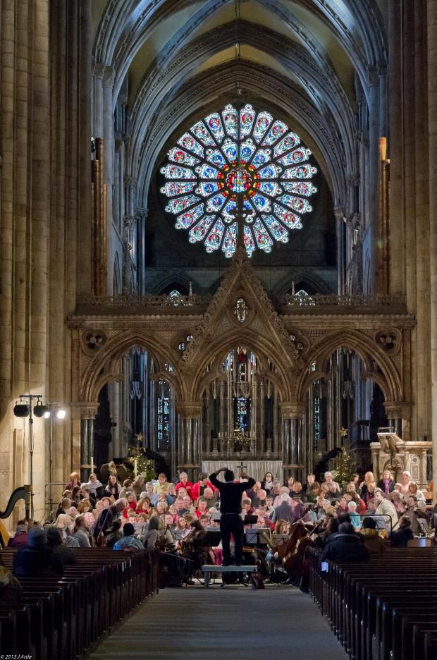 The Advertiser Series: Durham Choral Society in rehearsals