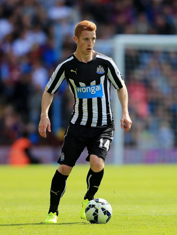 The Advertiser Series: CALL-UP: Newcastle United midfielder Jack Colback has been called up to the England squad for the first time, two months after joining the club from rivals Sunderland