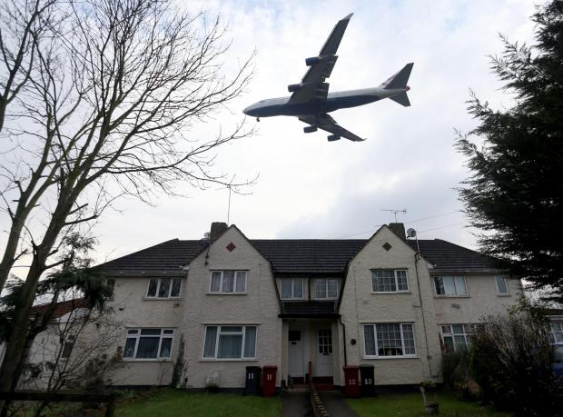 The Advertiser Series: NEW ARRIVAL: A plane comes in to land at Heathrow Airport