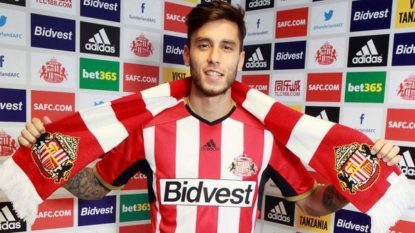 The Advertiser Series: IT'S RICKY: Sunderland have signed Ricky Alvarez on a season-long loan from Inter Milan
