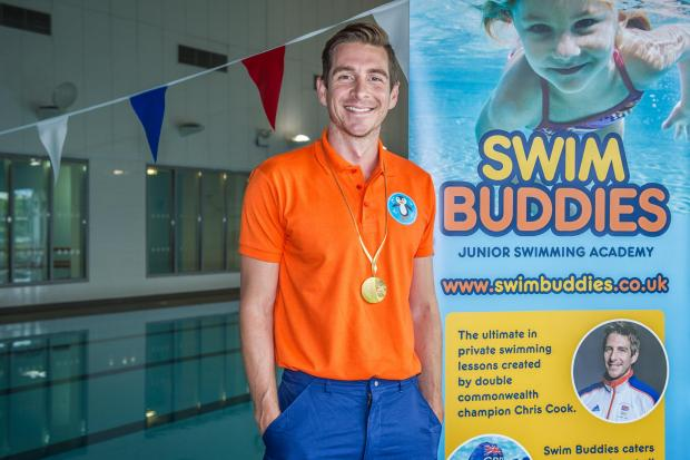 The Advertiser Series: MAKING A SPLASH: Chris Cook has launched Swim Buddies