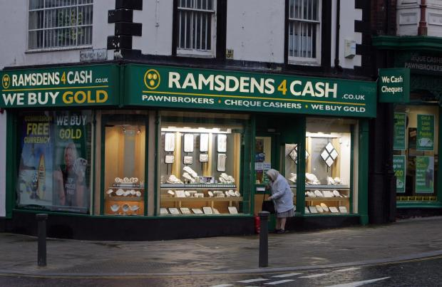 The Advertiser Series: Ramsdens pawnbrokers, on Tubwell Row, Darlington