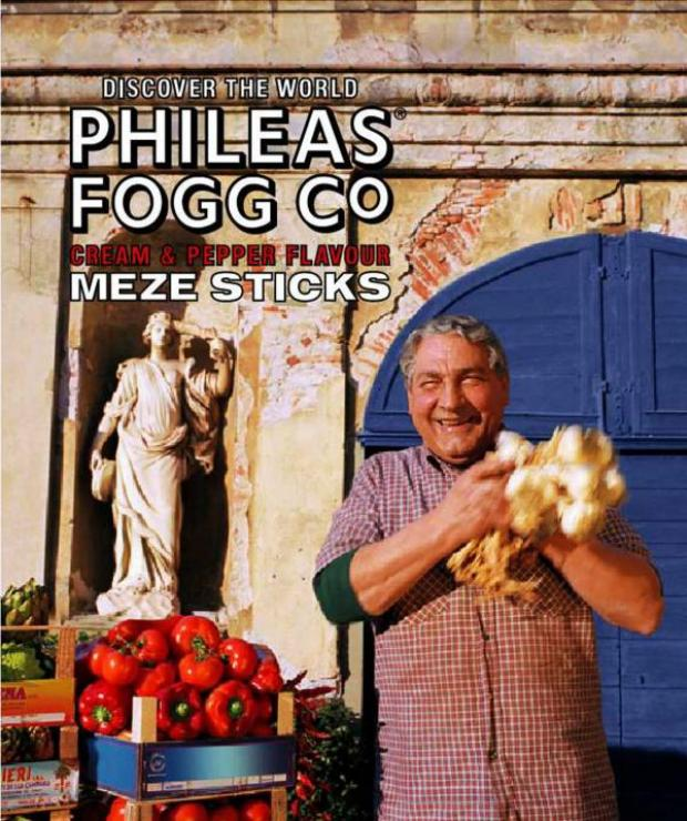 The Advertiser Series: A previous advertising campaign for Phileas Fogg crisps