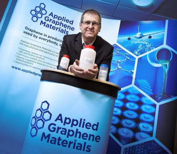 The Advertiser Series: GROWING COMPANY: Jon Mabbitt, Applied Graphene Materials' chief executive
