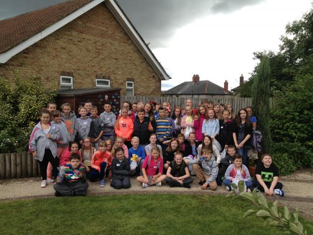 The Advertiser Series: FUN TIMES: Youngsters raise money for Butterwick Hospice at their summer school