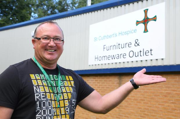 The Advertiser Series: Retail supervisor Bill Brierley at the new St Cuthbert's Hospice furniture and homeware outlet. PICTURE: Keith Taylor (10044258)
