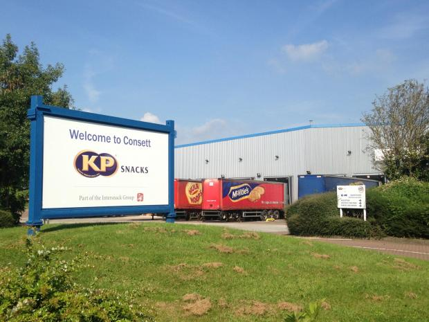 The Advertiser Series: KP Snacks' factory in Consett