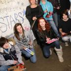 The Advertiser Series: MURAL PAINTING: Prince's Trust volunteers with their mural in a Chester le Street  underpass. Picture: TOM BANKS