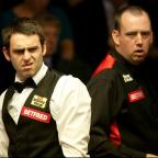 The Advertiser Series: Mark Williams, right, finally got the better of Ronnie O'Sullivan, left