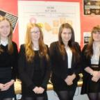 The Advertiser Series: FINALISTS: Katie Baggott, Caitlin Hodgson, Jessica Hetherington and Dominica Halton.